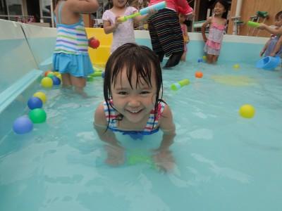 画像: 2018年7月18日(水)幼稚園のプールで遊ぼう!