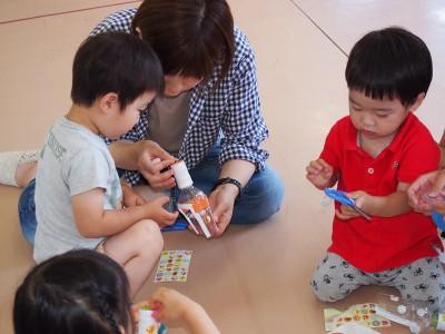 画像: 2018年6月5日(火)お砂場おもちゃを作ろう! 園庭で遊ぼう!!