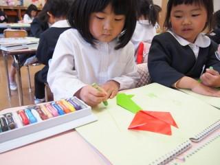 折り紙桜3